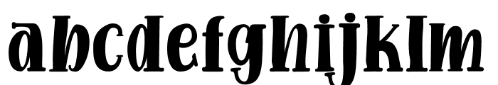 Funny Gang Font LOWERCASE