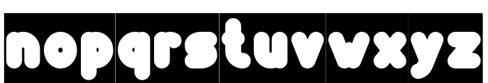 Funny and Cute-Inverse Font LOWERCASE