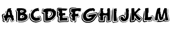 FunnyKid Font UPPERCASE
