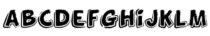 FunnyKid Font LOWERCASE
