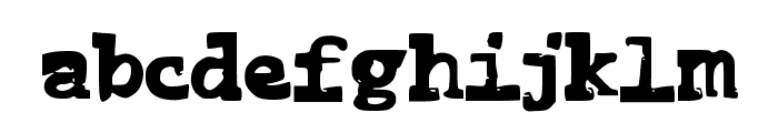 FunnyMe Font LOWERCASE