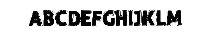 FunnyTrip Font UPPERCASE