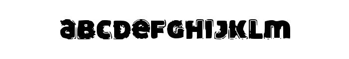 FunnyTrip Font LOWERCASE