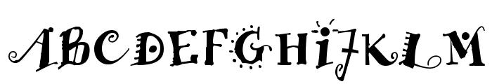 Funstuff Bold Font UPPERCASE