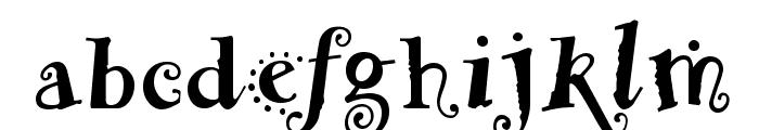 Funstuff Bold Font LOWERCASE