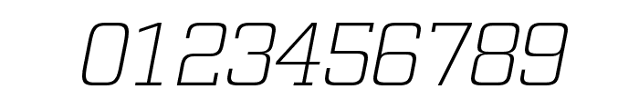 Funtauna Light Oblique Font OTHER CHARS