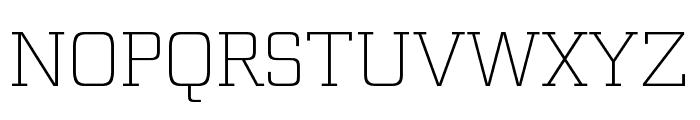 Funtauna Light Font UPPERCASE
