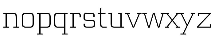 Funtauna Light Font LOWERCASE
