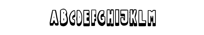 FuntleCaps Font UPPERCASE
