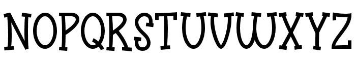 Funyard Font UPPERCASE