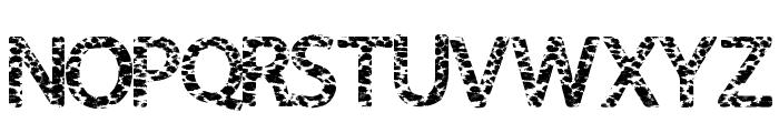 FurHandcuffs Font UPPERCASE