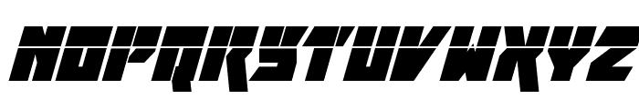 Furiosa Laser Super-Italic Font LOWERCASE