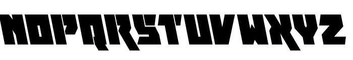 Furiosa Leftalic Font LOWERCASE