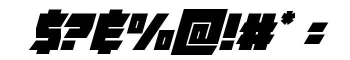 Furiosa Super-Italic Font OTHER CHARS