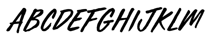 Furious Styles Font UPPERCASE