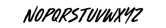 Furious Styles Font LOWERCASE