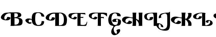 Furngilly  Simplified Font UPPERCASE