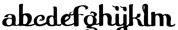 Furngilly  Simplified Font LOWERCASE