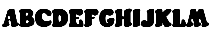 Futura Rounded Font UPPERCASE