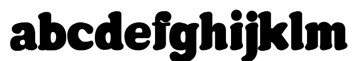 Futura Rounded Font LOWERCASE