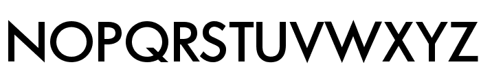 FuturaAgMiteOpti-Six Font UPPERCASE