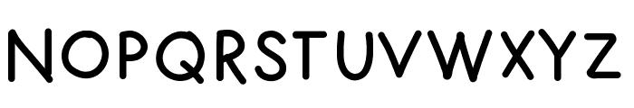 FuturaHand Font UPPERCASE