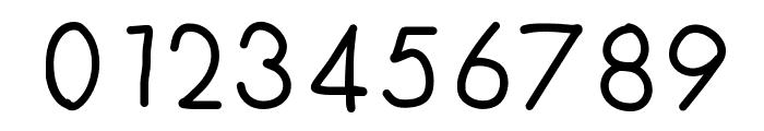 FuturaHandwritten Font OTHER CHARS