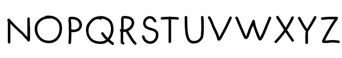 FuturaHandwritten Font UPPERCASE