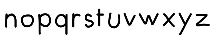 FuturaHandwritten Font LOWERCASE