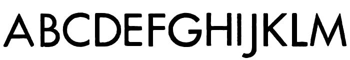 FuturaRener Font UPPERCASE
