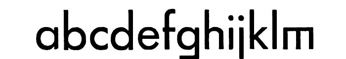 FuturaRener Font LOWERCASE