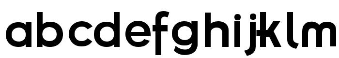 Futurama Bold Font Font LOWERCASE