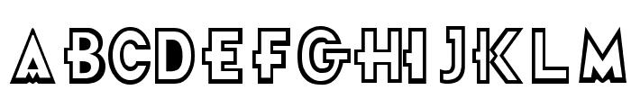 Futurama-Title-Font Font LOWERCASE