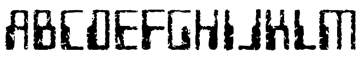 Future Imperfect Font UPPERCASE