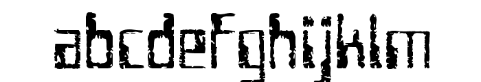 Future Imperfect Font LOWERCASE