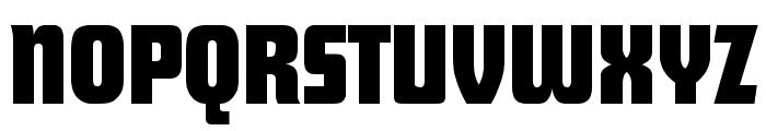 Future Regular Font UPPERCASE