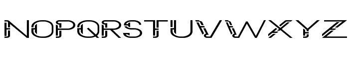 Future Sallow Wide Font UPPERCASE