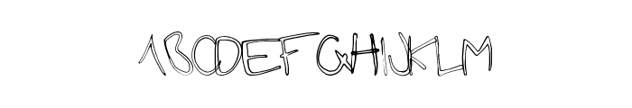 FutureGirlfriend Font LOWERCASE