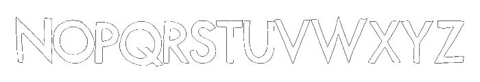 FutureLines Font UPPERCASE