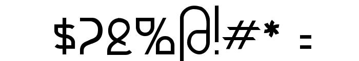 Futurex - AlternatLC Font OTHER CHARS