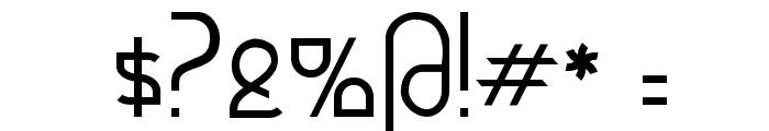 Futurex - AlternateTC Font OTHER CHARS