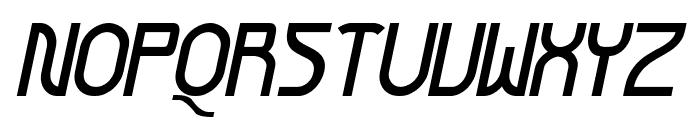 Futurex Arthur Bold Italic Font UPPERCASE