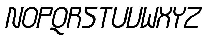Futurex Arthur Italic Font UPPERCASE