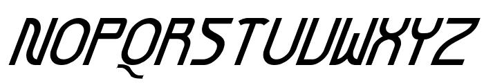 Futurex BoldOblique Font UPPERCASE