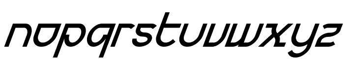 Futurex BoldOblique Font LOWERCASE