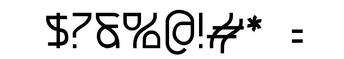 Futurex Crazyslab Font OTHER CHARS