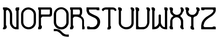 Futurex Crazyslab Font UPPERCASE