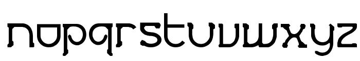 Futurex Crazyslab Font LOWERCASE