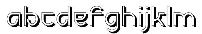 Futurex Deco Font LOWERCASE