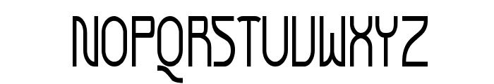 Futurex Narrow Font UPPERCASE